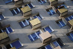 Architecture urbaine moderne images stock