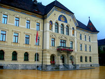 Architecture of Vaduz Stock Images