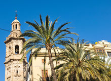 Architecture in Valencia, Spain Royalty Free Stock Photography