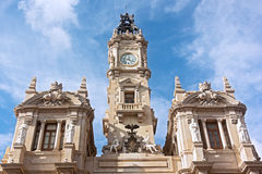 Architecture - Valencia Town Hall building, Spain. Royalty Free Stock Photos