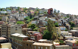 Architecture in Valparaiso, Chile Royalty Free Stock Photography