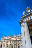 Architecture in Vatican city, Rome. Royalty Free Stock Photography