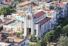 Architecture in Vedado district. Architecture in Vedado district of Havana. Cuba. View from the top Stock Photography