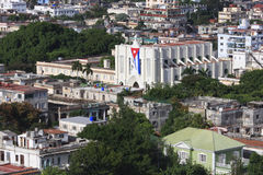 Architecture in Vedado district. Royalty Free Stock Photography