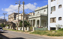 Architecture in Vedado district Stock Photo