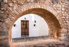 Architecture of Vejer de la Frontera Royalty Free Stock Photos