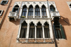 Architecture - Venice. Nice old facade - Venice, Italy Royalty Free Stock Images