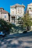 Architecture victorienne en San Francisco California Etats-Unis Architecture des bâtiments résidentiels avec façades colorées images libres de droits