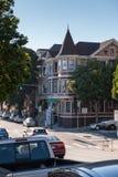 Architecture victorienne en San Francisco California Etats-Unis Architecture des bâtiments résidentiels avec façades colorées photo stock