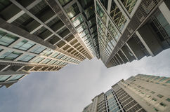 Architecture view of high rise building Stock Photo