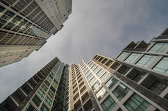 Architecture view of high rise building Stock Photos