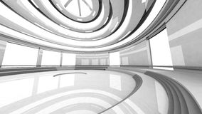 Architecture Visualisation Royalty Free Stock Photos