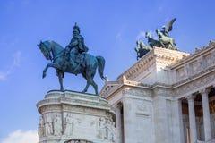 Architecture of the Vittorio Emanuele II Monument in Rome, Italy. Nazionale victor white vittoriano italian emmanuel piazza venezia national building tourism royalty free stock image