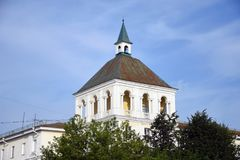 Architecture of Vladimir town, Russia. stock images