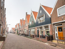 Architecture in Volendam Royalty Free Stock Images