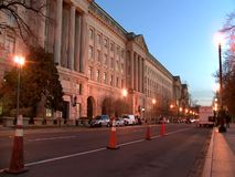Architecture in Washington DC stock footage