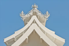 Architecture of wat rong khun. Architecture art asia asian wat Royalty Free Stock Photography
