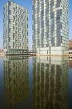 Architecture in water, Holland Royalty Free Stock Photos