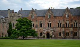 Architecture from Wells Royalty Free Stock Photography