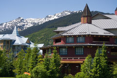 Architecture of Whistler stock images