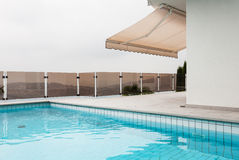 Architecture whit pool Stock Photos