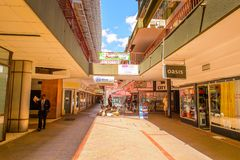 Architecture of Windhoek, Namibia. WINDHOEK, NAMIBIA - JAN 3, 2016: Architecture of Windhoek, Namibia. Windhoek is the capital and the largest city of Namibia stock photos