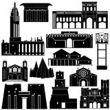 Architecture of the world-4 Royalty Free Stock Photos