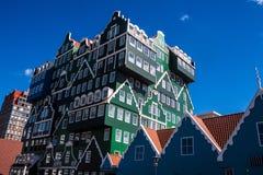 Architecture in Zaandam Stock Image