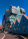 Architecture in Zaandam Royalty Free Stock Photos