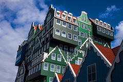 Architecture in Zaandam Royalty Free Stock Photo