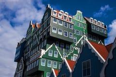 Architecture in Zaandam Royalty Free Stock Photo