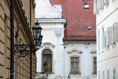 Architecture in Zagreb Royalty Free Stock Photo