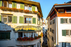 Architecture in Zurich city Royalty Free Stock Images