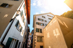 Architecture in Zurich city Stock Image