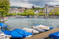 Architecture of Zurich Royalty Free Stock Photos