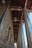 Architectured korridor i storslagen slott Royaltyfri Fotografi