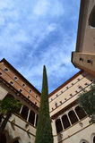 Architecturemaking Montserrat (Monasterio de Montserrat) Hiszpania Fotografia Stock