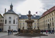 Architectures de château de Praha image stock