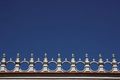 Architectures detail. In castle in Krasicyn in Poland Stock Photo
