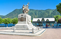 Architectures and landscapes of Como Lake Royalty Free Stock Photo
