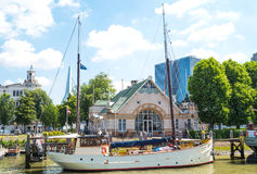 The architectures and landscapes of Rotterdam Royalty Free Stock Photography