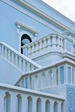 The architectures of Santa Maria di Leuca. Santa Maria Di Leuca, Italy, the famous villas of the nineteenth century, on the seafront Stock Images