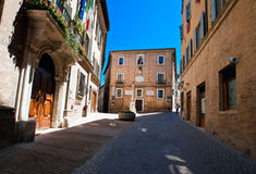 Architectures of Urbino Royalty Free Stock Photos