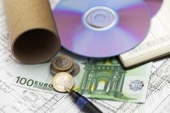 Architectuur als beroep Royalty-vrije Stock Afbeeldingen