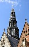 Architectuur in Amsterdam Royalty-vrije Stock Foto's