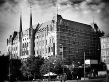Architectuur Artistiek kijk in zwart-wit Royalty-vrije Stock Foto