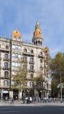 Architectuur in Barcelona, Spanje Royalty-vrije Stock Foto's