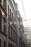 Architectuur in Belgrado royalty-vrije stock afbeeldingen