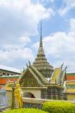 Architectuur bij Emerald Buddha-tempel Royalty-vrije Stock Afbeelding