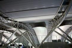 Architectuur bij luchthaven royalty-vrije stock foto